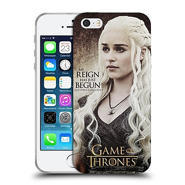 Official Hbo Game Of Thrones Character Quotes Daenerys Targaryen Soft Gel Case For Apple Iphone 5 / 5S / Se