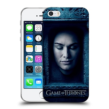 Official Hbo Game Of Thrones Faces Cersei Lannister Soft Gel Case For Apple Iphone 5 / 5S / Se