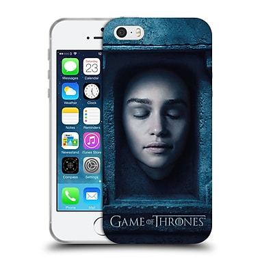 Official Hbo Game Of Thrones Faces Daenerys Targaryen Soft Gel Case For Apple Iphone 5 / 5S / Se