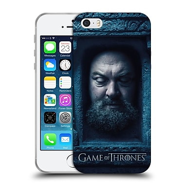 Official Hbo Game Of Thrones Faces Robert Baratheon Soft Gel Case For Apple Iphone 5 / 5S / Se