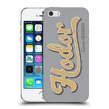 Official Hbo Game Of Thrones Hodor Athletic Typography Soft Gel Case For Apple Iphone 5 / 5S / Se