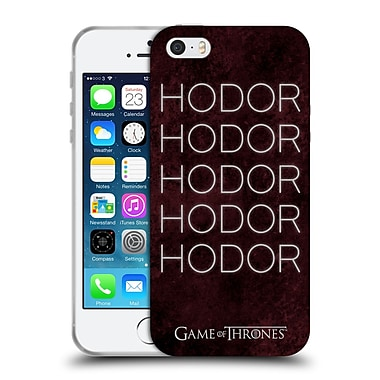 Official Hbo Game Of Thrones Hodor Hold The Door 1 Soft Gel Case For Apple Iphone 5 / 5S / Se