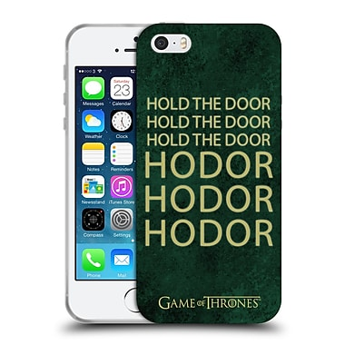 Official Hbo Game Of Thrones Hodor Name Soft Gel Case For Apple Iphone 5 / 5S / Se
