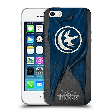 Official Hbo Game Of Thrones Sigil Flags Arryn Soft Gel Case For Apple Iphone 5 / 5S / Se