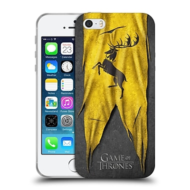 Official Hbo Game Of Thrones Sigil Flags Baratheon Soft Gel Case For Apple Iphone 5 / 5S / Se
