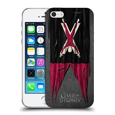 Official Hbo Game Of Thrones Sigil Flags Bolton Soft Gel Case For Apple Iphone 5 / 5S / Se