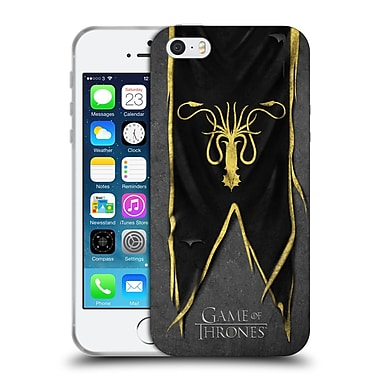 Official Hbo Game Of Thrones Sigil Flags Greyjoy Soft Gel Case For Apple Iphone 5 / 5S / Se