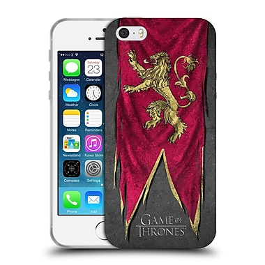 Official Hbo Game Of Thrones Sigil Flags Lannister Soft Gel Case For Apple Iphone 5 / 5S / Se
