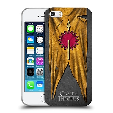 Official Hbo Game Of Thrones Sigil Flags Martell Soft Gel Case For Apple Iphone 5 / 5S / Se