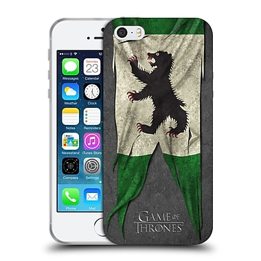 Official Hbo Game Of Thrones Sigil Flags Mormont Soft Gel Case For Apple Iphone 5 / 5S / Se