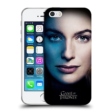 Official Hbo Game Of Thrones Valar Morghulis Cersei Lannister Soft Gel Case For Apple Iphone 5 / 5S / Se