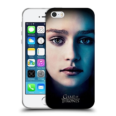Official Hbo Game Of Thrones Valar Morghulis Daenerys Targaryen Soft Gel Case For Apple Iphone 5 / 5S / Se