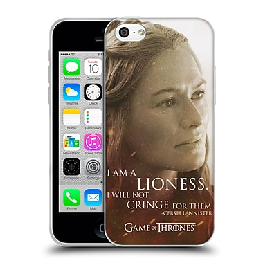 Official Hbo Game Of Thrones Character Portraits Cersei Lannister Soft Gel Case For Apple Iphone 5C