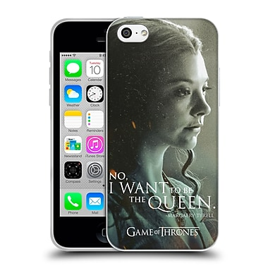 Official Hbo Game Of Thrones Character Portraits Margaery Tyrell Soft Gel Case For Apple Iphone 5C
