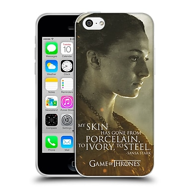 Official Hbo Game Of Thrones Character Portraits Sansa Stark Soft Gel Case For Apple Iphone 5C