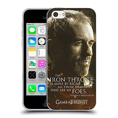 Official Hbo Game Of Thrones Character Portraits Stannis Baratheon Soft Gel Case For Apple Iphone 5C