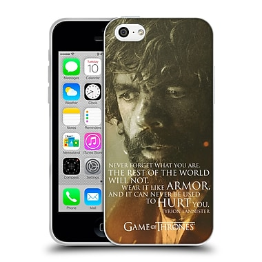 Official Hbo Game Of Thrones Character Portraits Tyrion Lannister Soft Gel Case For Apple Iphone 5C