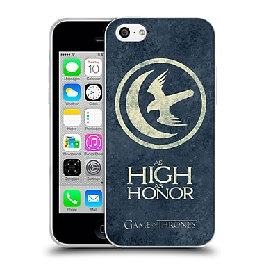 Official Hbo Game Of Thrones Dark Distressed Sigils Arryn Soft Gel Case For Apple Iphone 5C