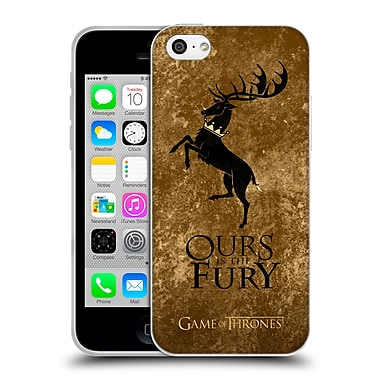 Official Hbo Game Of Thrones Dark Distressed Sigils Baratheon Soft Gel Case For Apple Iphone 5C
