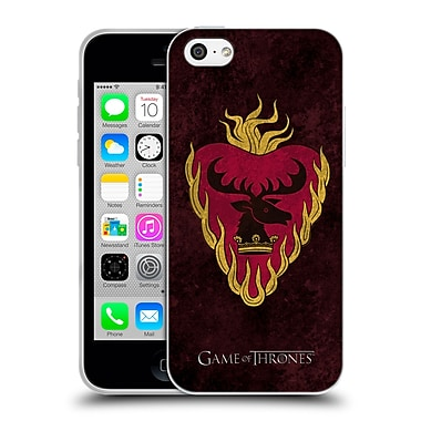 Official Hbo Game Of Thrones Dark Distressed Sigils Stannis Soft Gel Case For Apple Iphone 5C