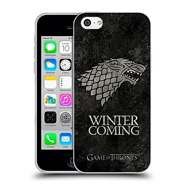 Official Hbo Game Of Thrones Dark Distressed Sigils Stark Soft Gel Case For Apple Iphone 5C