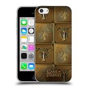 Official Hbo Game Of Thrones Golden Sigils Greyjoy Soft Gel Case For Apple Iphone 5C