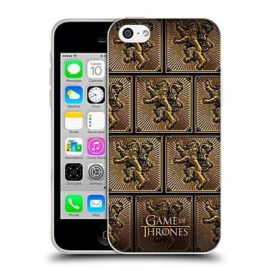 Official Hbo Game Of Thrones Golden Sigils Lannister Soft Gel Case For Apple Iphone 5C