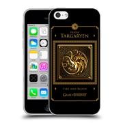 Official Hbo Game Of Thrones Golden Sigils Targaryen Border Soft Gel Case For Apple Iphone 5C