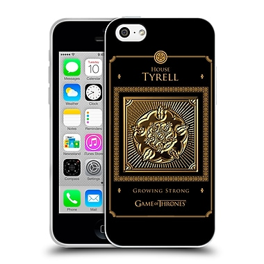 Official Hbo Game Of Thrones Golden Sigils Tyrell Border Soft Gel Case For Apple Iphone 5C