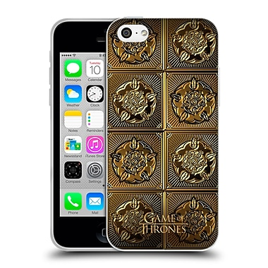 Official Hbo Game Of Thrones Golden Sigils Tyrell Soft Gel Case For Apple Iphone 5C