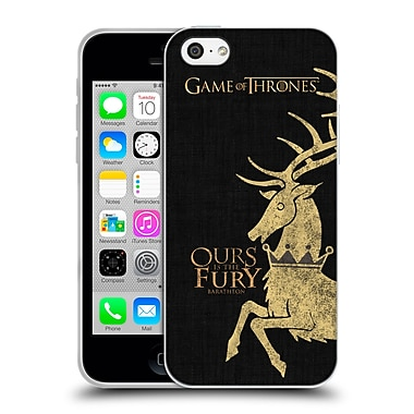 Official Hbo Game Of Thrones House Mottos Baratheon Soft Gel Case For Apple Iphone 5C