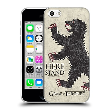 Official Hbo Game Of Thrones House Mottos Mormont Soft Gel Case For Apple Iphone 5C