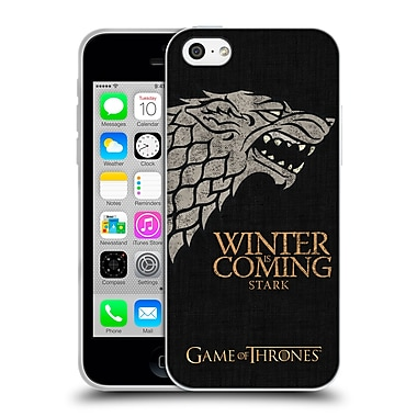 Official Hbo Game Of Thrones House Mottos Stark Soft Gel Case For Apple Iphone 5C