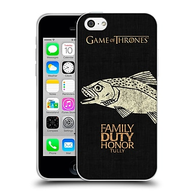 Official Hbo Game Of Thrones House Mottos Tully Soft Gel Case For Apple Iphone 5C