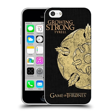 Official Hbo Game Of Thrones House Mottos Tyrell Soft Gel Case For Apple Iphone 5C
