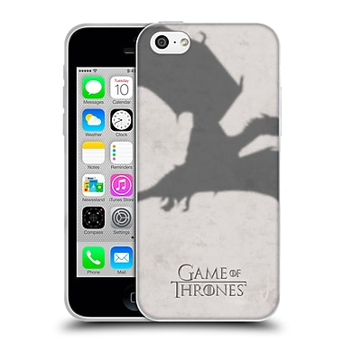 Official Hbo Game Of Thrones Key Art Dragon Soft Gel Case For Apple Iphone 5C