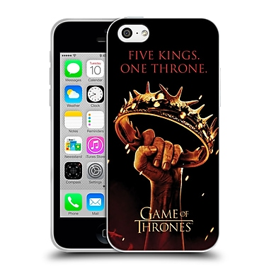 Official Hbo Game Of Thrones Key Art One Throne Soft Gel Case For Apple Iphone 5C