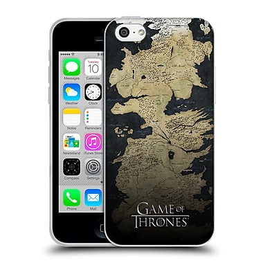 Official Hbo Game Of Thrones Key Art Westeros Map Soft Gel Case For Apple Iphone 5C