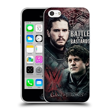 Official Hbo Game Of Thrones Battle Of The Bastards Jon Versus Ramsay Soft Gel Case For Apple Iphone 5C