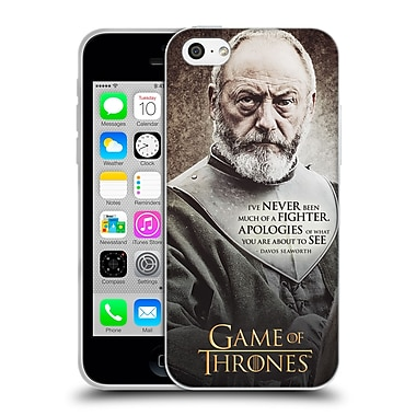 Official Hbo Game Of Thrones Character Quotes Davos Seaworth Soft Gel Case For Apple Iphone 5C