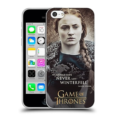 Official Hbo Game Of Thrones Character Quotes Sansa Stark Soft Gel Case For Apple Iphone 5C