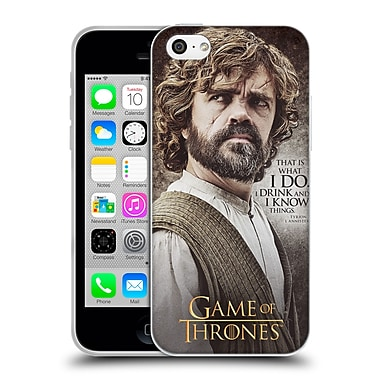 Official Hbo Game Of Thrones Character Quotes Tyrion Lannister Soft Gel Case For Apple Iphone 5C