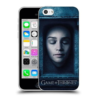 Official Hbo Game Of Thrones Faces Daenerys Targaryen Soft Gel Case For Apple Iphone 5C