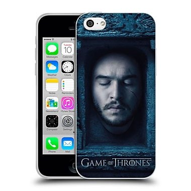 Official Hbo Game Of Thrones Faces Jon Snow Soft Gel Case For Apple Iphone 5C