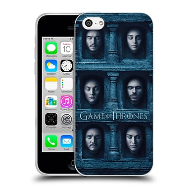 Official Hbo Game Of Thrones Faces Six Heads Soft Gel Case For Apple Iphone 5C