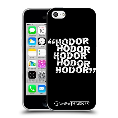Official Hbo Game Of Thrones Hodor Quote 2 Soft Gel Case For Apple Iphone 5C