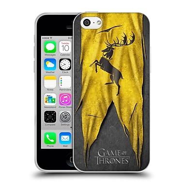 Official Hbo Game Of Thrones Sigil Flags Baratheon Soft Gel Case For Apple Iphone 5C
