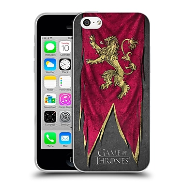 Official Hbo Game Of Thrones Sigil Flags Lannister Soft Gel Case For Apple Iphone 5C