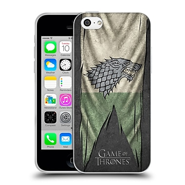 Official Hbo Game Of Thrones Sigil Flags Stark Soft Gel Case For Apple Iphone 5C