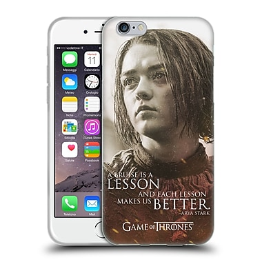 Official Hbo Game Of Thrones Character Portraits Arya Stark Soft Gel Case For Apple Iphone 6 / 6S